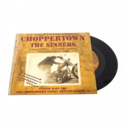 "Vinyl Soundtrack der ""Choppertown"" Doku"