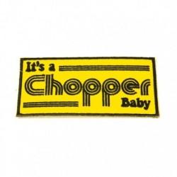 """Aufnäher """"It's a Chopper Baby"""""""