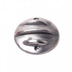"""Pointcover """"Ribbed"""" Aluminium vertikal"""