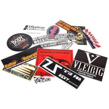 "Sticker set ""sticky bandits"""